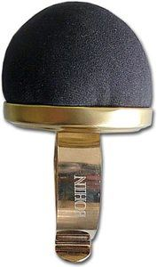 7. Bohin Wrist Pincushion, Black Velvet