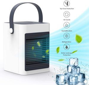 7. DOUHE Portable Mini Air Conditioner, Evaporative Air Humidifier