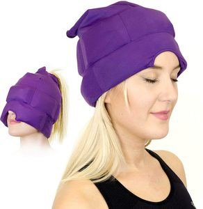 8. Magic Gel Headache and Migraine Relief Cap