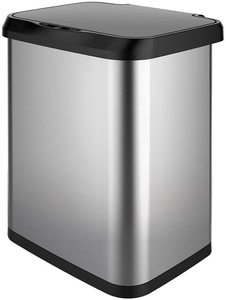 #9 GLAD Stainless Steel Sensor Trash Can