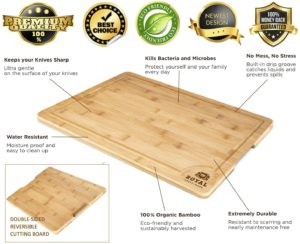 #9 Small Bamboo Cutting Board