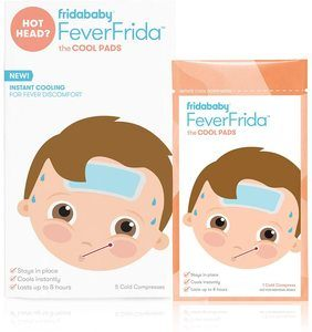 9. FridaBaby Cool Pads for Kids, 5 Count