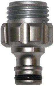 9. Gardena 39022-G Premium Metal Garden Hose Male Adapter