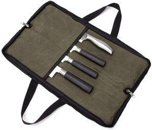 9. QEES Pro Chef's Knife Roll(4 Slots)