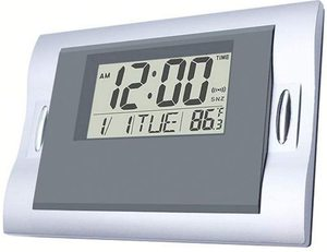 #9. Vmarketingsite Digital LCD Display Wall Clocks