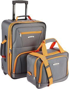 #1 Rockland Fashion Softside Luggage