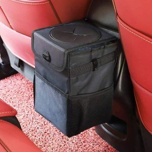 10. Ryhpez Car Trash Can with Lid