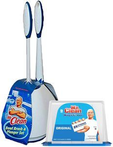 2. Turbo Plunger and Bowl Brush Caddy Set