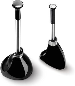 4. simplehuman Plunger and Toilet Brush Bundle