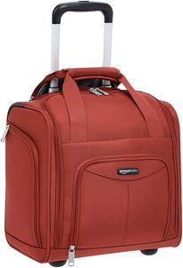 #5 AmazonBasics Underseat Luggage