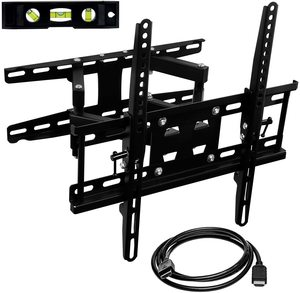 5. Mount-It! Articulating TV Wall Mount Corner Bracket