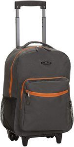 #6 Rockland Double Handle Rolling Backpack