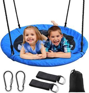 8. 40 Large Round Saucer Swing