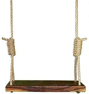 9. Rustic American Black Walnut 24 Inch Tree Swing