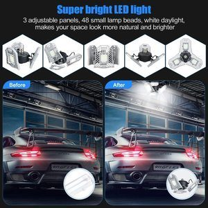 #1 LED Garage Light Tanbaby Garage Light Three-Leaf Garage Lights