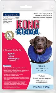 1. KONG Cloud E-Collar for Cats and Dogs