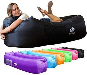 1. Wekapo Inflatable Lounger Air Sofa Hammock