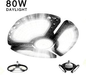 #10 Garage Lights, 80W LED Garage Lights