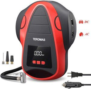 10. TEROMAS Tire Inflator Air Compressor