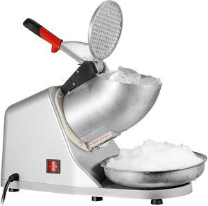 #2 ZENY Ice Shaver Machine Electric Snow Cone Maker Stainless Steel