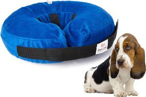 2. Pet Link Inflatable Dog Collar, Soft Comfortable Donut