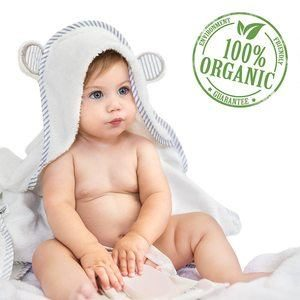 #3 San Francisco Baby Ultra Soft Bamboo Hooded Baby Towel