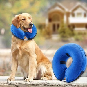 3. BENCMATE Protective Inflatable Collar for Dogs and Cats