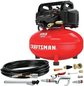 3. CRAFTSMAN Air Compressor, 6 gallons