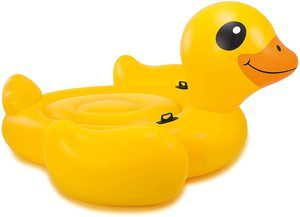 4. Intex Mega Yellow Duck, Inflatable Island