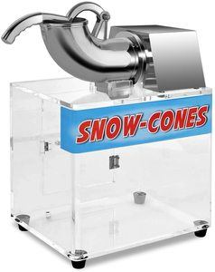 #5 Costzon Ice Shaver, Stainless Steel Electric Crusher