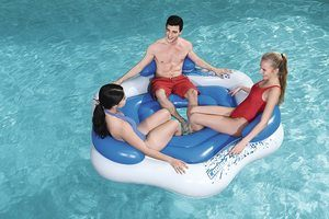 5. CoolerZ X3 Inflatable Island 3-Person