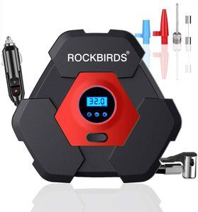 6. ROCKBIRDS Portable Air Compressor for Car Tires