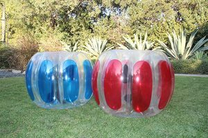 6. Sportspower Kids Thunder Bubble Inflatable Soccer Suits