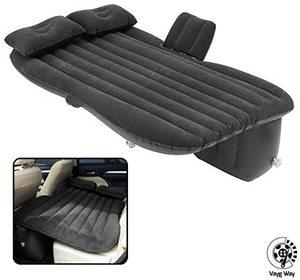 6. VaygWay Inflatable Car Air Mattress with 2 Pillows