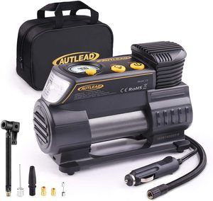 7. AUTLEAD C2 12V DC Portable Air Compressor Tire Inflator