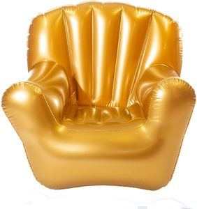 7. AirCandy Classic Arm Chair - Metallic Gold