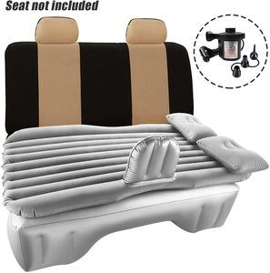 7. Haomaomao Car Air Mattress Travel Inflatable Back Seat
