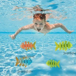 7. Prextex 24 Piece Diving Toy Set