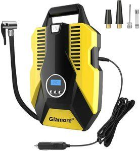8. Glamore Portable Air Compressor for Car Tires