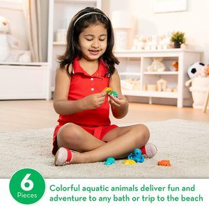 8. Melissa & Doug Seaside Sidekicks Sea Creatures Set