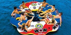 8. WOW World of Watersports, 10 Person Inflatable Floating Island