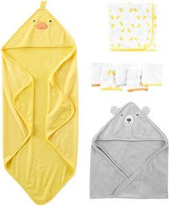 #9 Simple Joys by Carter's Baby 8-Piece Towel and Washcloth Set