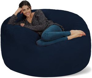 9. Chill Sack Bean Bag Chair with 5' Memory Foam