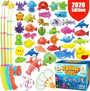 9. GoodyKing Magnetic Fishing Game Pool Toys