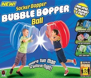 9. Socker Boppers Bubble Ball Bumper Junior Size