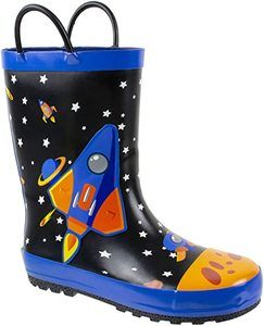 1. Rainbow Daze Rain Boots for Kids