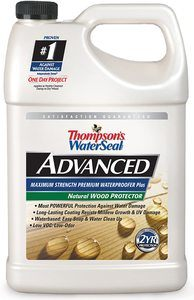 2. Thompsons WaterSeal TH.A21711-16 Advanced Natural Wood Protector