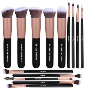 3. BS-MALL Makeup Brushes, Makeup 14 Pcs Brush Set