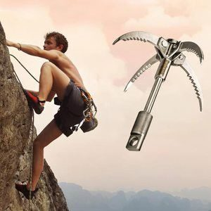 3. Grappling Hook Folding Multifunctional Stainless Steel Hook