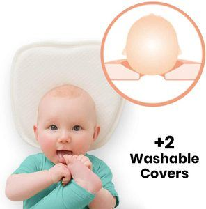4. Baby Flat Head Shaping Pillow